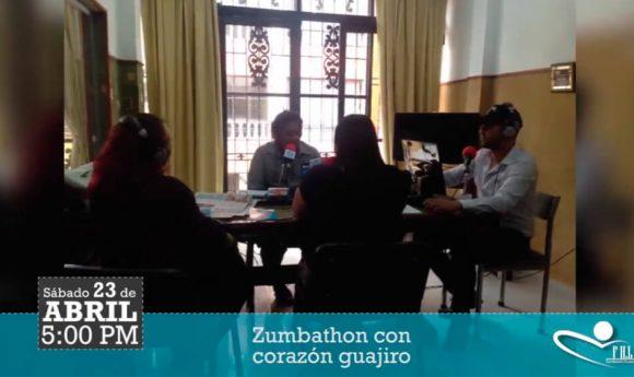La fundación H. Lessing invitand a Colombia a la #Zumbathon