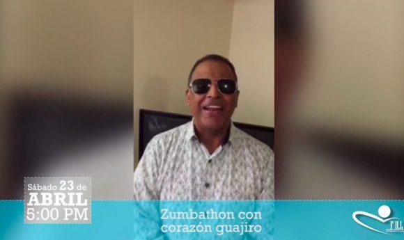 Wilfrido Vargas se une a la #Zumbathon con corazón Guajiro