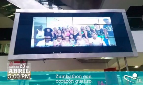 Colombia unida baila Zumba